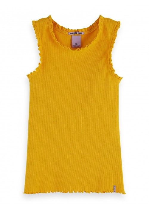 Scotch R'belle Basic Rib tank top
