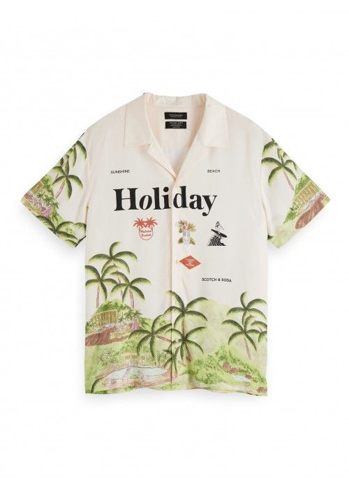 Scotch & Soda Hawaii fit - Chic Hawaii shirt