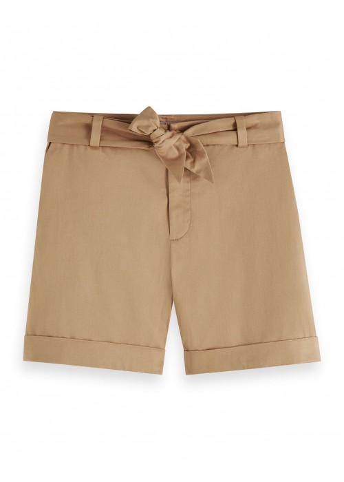 Maison Scotch Longer length mercerized chino