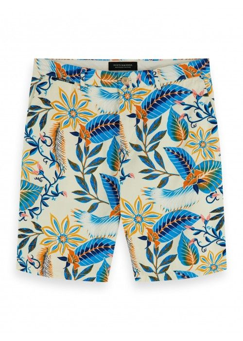 Scotch & Soda Mid Length - Allover printed