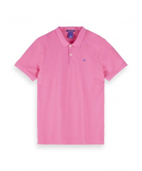 Scotch & Soda Classic Cotton Pique Polo