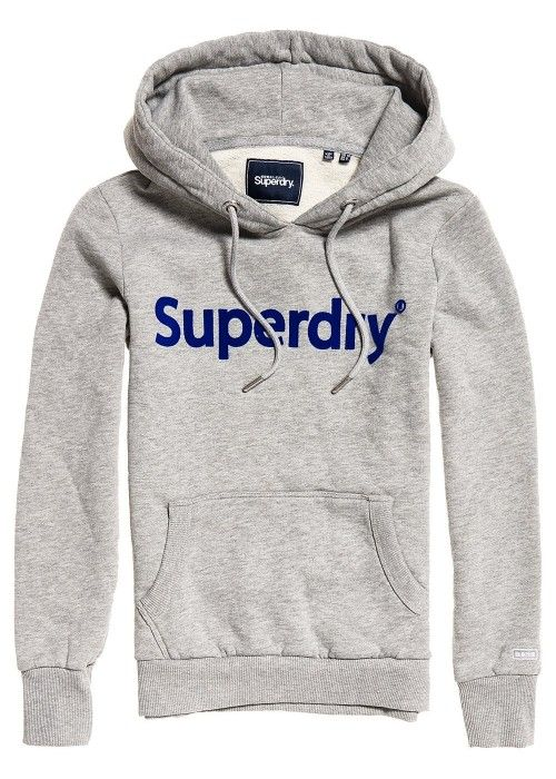 Superdry Reg Flock Entry Hood