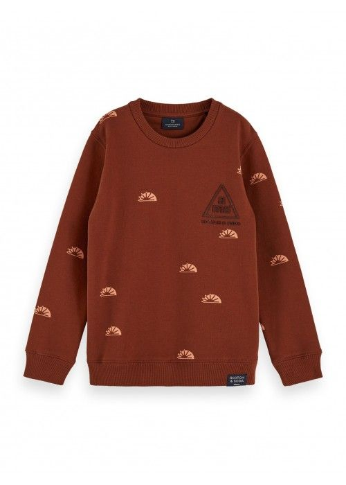 Scotch Shrunk Crew neck sweat