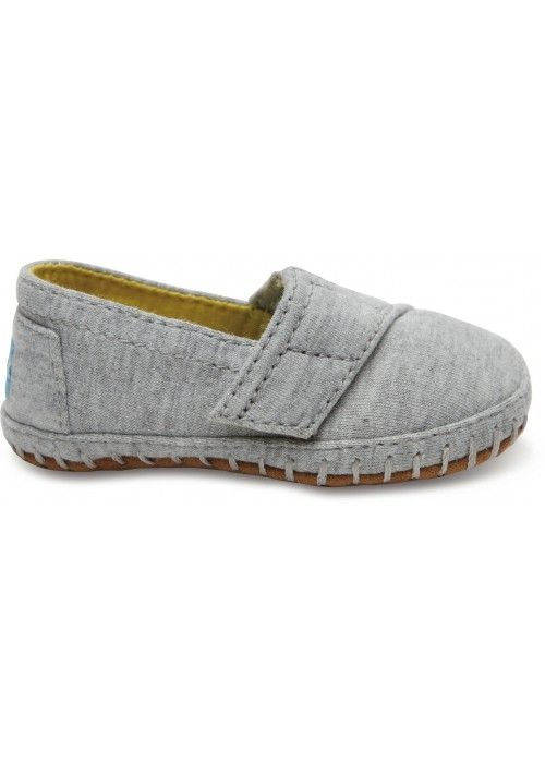TOMS Shoes Grey Jersey Tn Crib