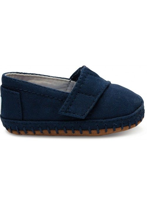 TOMS Shoes Navy canvas TN