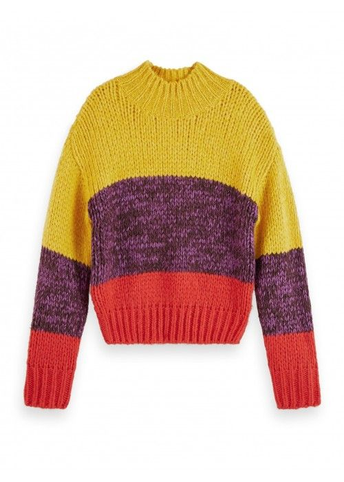 Maison Scotch Chunky Knit