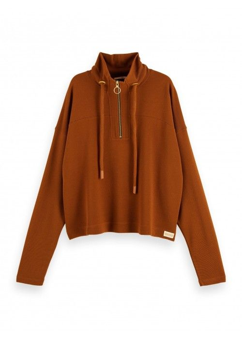 Maison Scotch Anorak Sweat