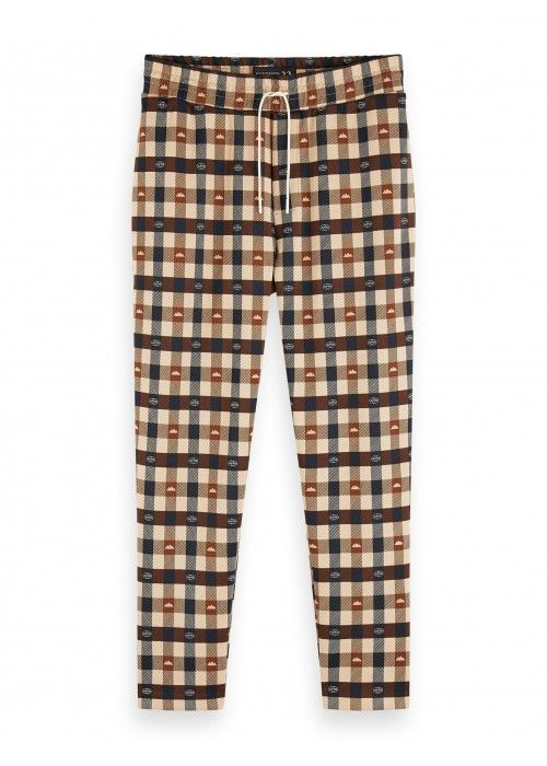 Scotch & Soda All -over printed sweatpant