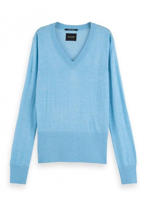 Maison Scotch Lightweight Knit