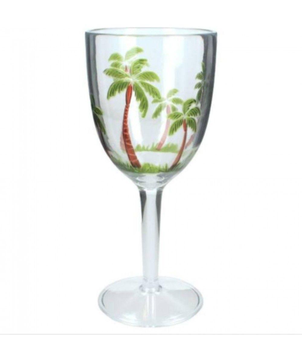 Holidaystore Wineglass Acrylic green