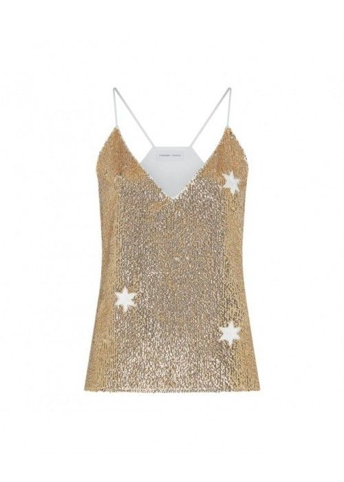 Fabienne Chapot Sequin Top