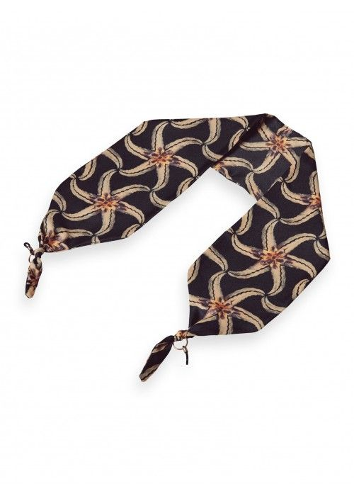 Maison Scotch Printed eyewear scarf
