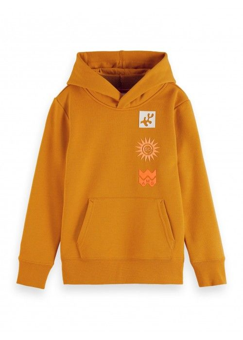 Scotch Shrunk Hoodie with artwork and inner