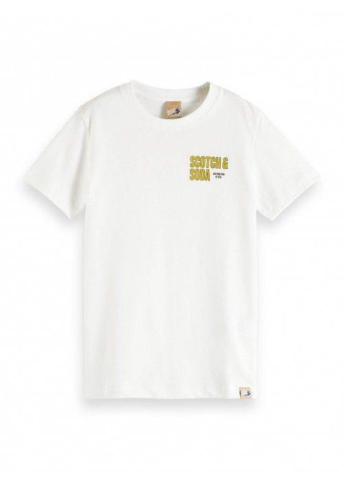 Scotch Shrunk Short sleeve tee wit artwork