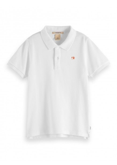Scotch Shrunk Garment dyed short sleeve polo