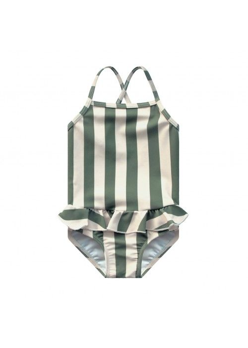Your Wishes Swimsuit Bold Stripes