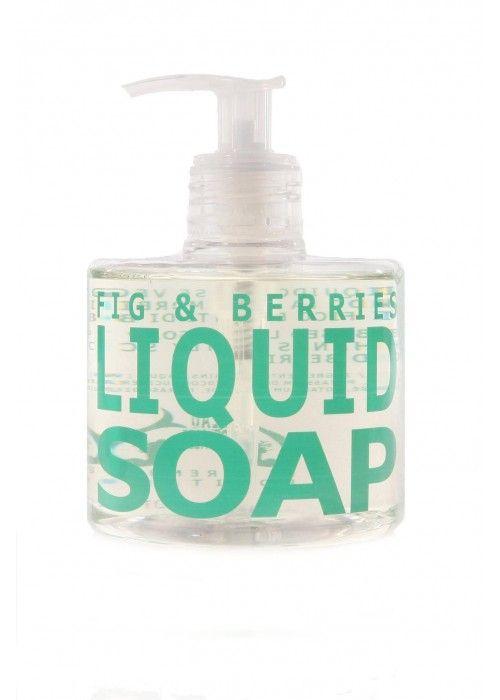 Eau D'Italie FIG & BERRIES LIQUID SOAP