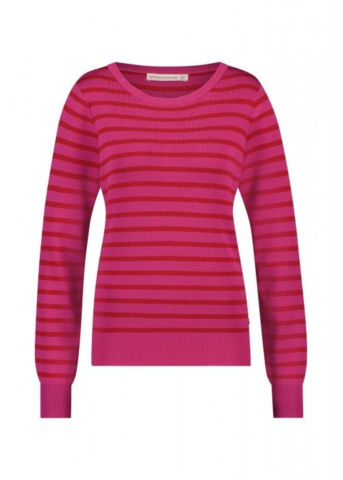 StudioAnneloes Quinty stripe pullover